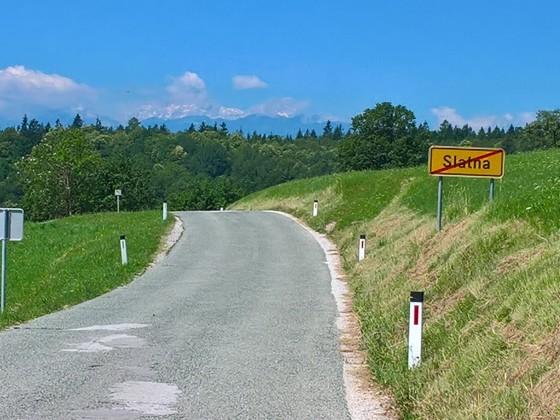 Auf dem Weg nach Bled (SLO)