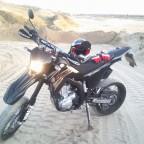 mein erstes Bike - Yamaha WR250X