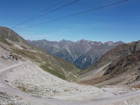 Auf der Ötztaler Gletscherstraße