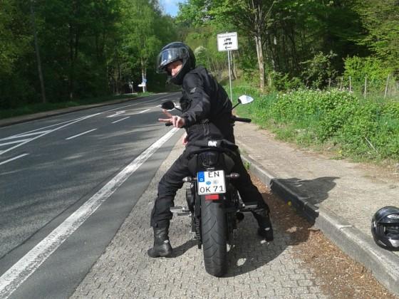 Vatertags-Tour durchs Bergische Land...