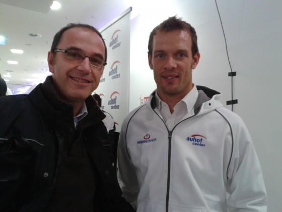 mit alex wurz(ex F1 und 2facher LeMans Sieger)