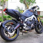 Race-Umbau Yamaha MT-09