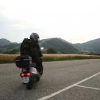 Mit Lernfahrausweis und '93er Honda CH 125 Spacy in der Schweiz unterwegs (Juli '09)