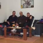 Stefan , Jule & Micha bei Tourbesprechnung