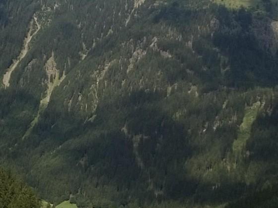 Blick ins Montafon von der Silvretta-Hochstraße
