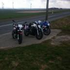 Kleine Runde mit der Nuda und der Gsxr 600 K7 :-)