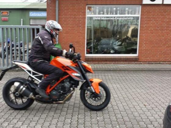 Probefahrt KTM 1290 SD