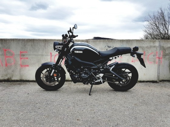 Saisonstart XSR900