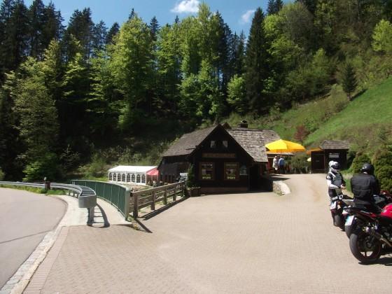 Hexenlochmühle im SW