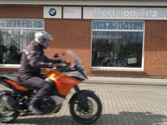 Probefahrt KTM 1190 Adventure
