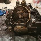 Motorzusammenbau
