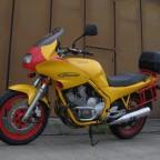 '95er Xj 600 S - Zustand nach dem Kauf (aus 1. Hand). Farbliche Gestaltung Level »Unikat« (Aufnahme Juli '11)