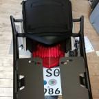 Shad Trägersystem unter Sitzbank