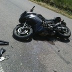 nach dem Unfall im Juni