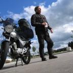 Rückfahrt aus Tirol (Enfield Treffen) mit YBR 125 (Aufnahme  Juni '11)